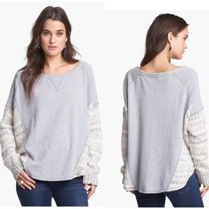 Free People Sz Med - Beautiful Sinner Pullover